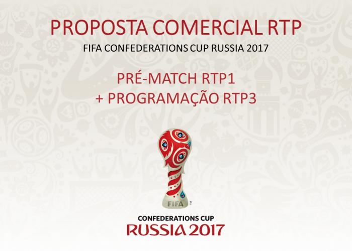 Programação Suporte FIFA Confederations Cup Russia 2017
