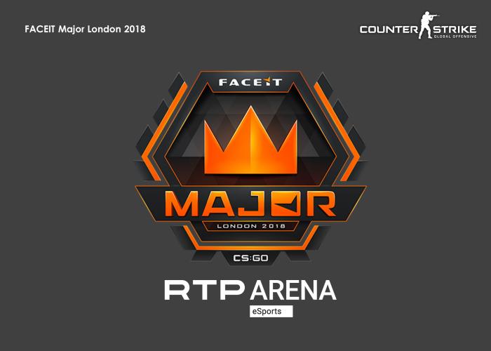 RTP Arena CS:GO Major London 2018
